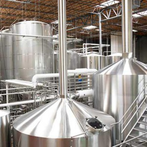 High Quality 3 Vessel Brewhouse -